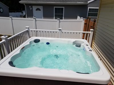 Photo for Avail 7/21 - 7/27 4BR Home - HOTTUB - Everything New - Sleeps 10 - Dog Friendly