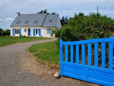 Photo for charming new house Breton style ,, sea view; large lot