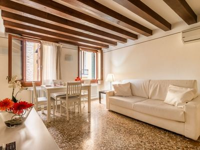Photo for Pretty apartment in the heart of Venice behind St. Mark Square!