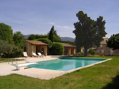 Photo for Provencal Luxury Village Bergerie with Pool - 1.5kms Lourmarin