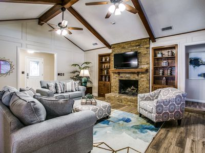 Photo for Beautiful Plano Home - Swimming Pool and Game Room