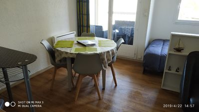Photo for studio cabin 1 furnished 4 people with parking - golden triangle