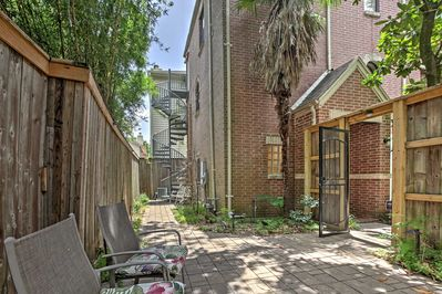 Experience the life of a Houston local at this home in the heart of Montrose.