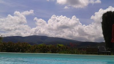Photo for In the South - Villa - quiet swimming pool / a few kilometers from the beaches