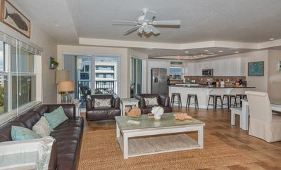 Photo for Tastefully decorated 3 Bedroom 2 Bath Ocean Walk Condo with Sneak Peak of the Ocean -OW20-501