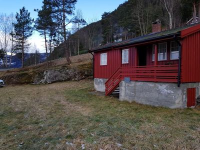 Photo for Lovely holiday home for 5 people with views of the fjord and the mountains