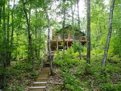 Photo for *Hipp's Hideaway on Tiger Cat Cove ==> On The Lake & On TWO Wooded Acres