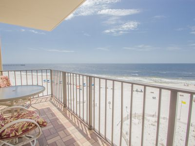 Photo for BEACHFRONT!  Great views and pool!