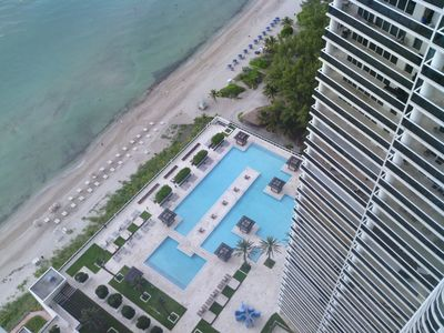 Photo for Condo with view directly on the sea and view on the canal