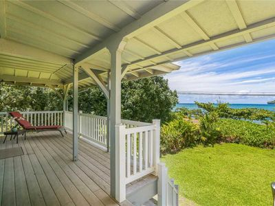 Great Ocean View Home on Kauai's Lush North Shore