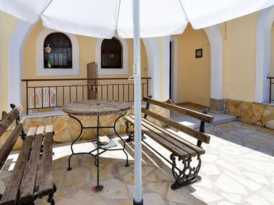 Photo for Corfu Budget friendly private parking, yard, 2 bdr