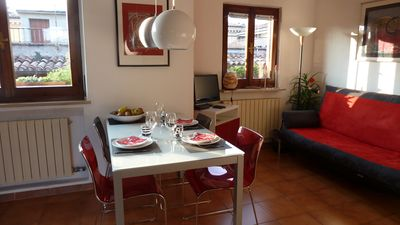 Photo for Stylish loft in the heart of Verona overlooking the rooftops of the old town