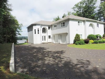 Photo for Luxury Lakefront townhouse rental on Lake Memphremagog, Newport, VT!