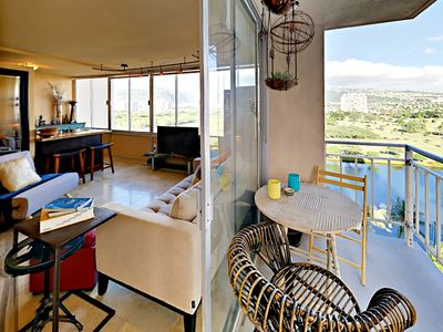 Lanai - Welcome to Waikiki! Your rental is professionally managed by TurnKey Vacation Rentals.