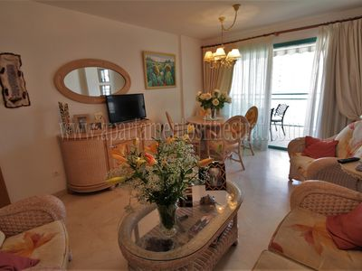 Photo for A832 - Lovely apartment with air conditioning and garage close to the beach