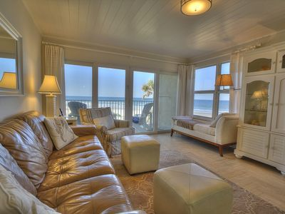 BEST VIEW on the entire beach: 1 of 2 end units in complex closest to beach!