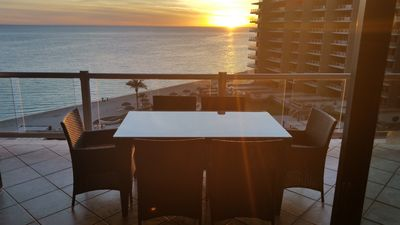 Photo for Las Palomas, 2Bed+ Bunk room, Oceanfront, Sleeps 6 Golf/Spa