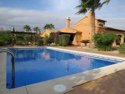 Photo for Luxury Villa, Quiet location on Golf Resort with Private Pool