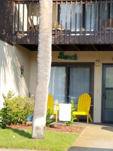 Photo for Charming, Beachy Townhouse, 2 bd, 1.5 bath, Right across from Beach!