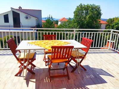 Photo for Charming sea view apartment in Orebic
