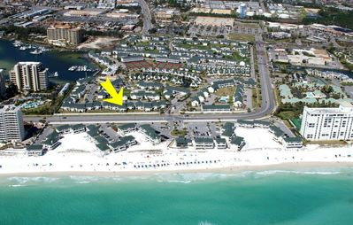 Photo for Wonderful 1br adjacent to the beach at Sandpiper Cove Resort.