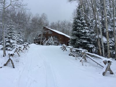 Photo for Cozy Cabin in  Angel Fire