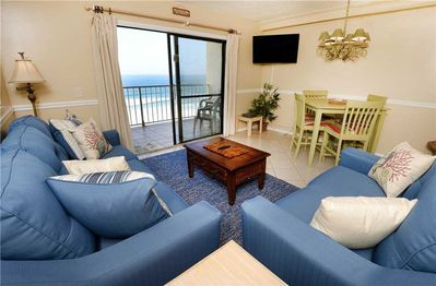 Welcome to Summit 828! - This bright and airy, well-furnished, ocean-view condo has room for everyone to gather in the living room for games, TV, or to watch the beautiful sunrises!