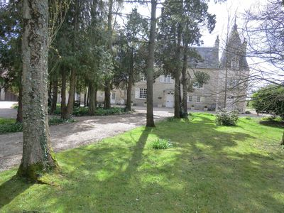 Photo for B&B In Beautifully Restored Manor Near Sainte Mere Eglise & Utah Beach, Garden