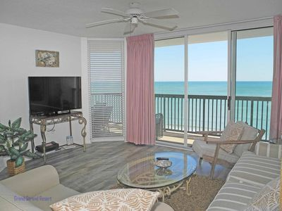 Photo for Ashworth Unit 1106! Stunning Ocean Front Condo! Book your get away today!