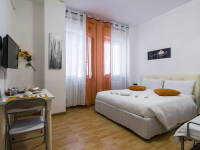 Photo for Independent holiday home in the center of Bergamo.