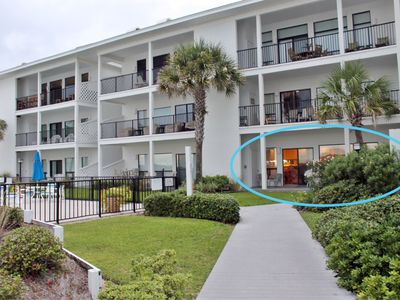 Photo for Palms of Dune Allen. 1st Floor. Pool and Beach are Right There!