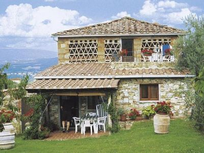 Photo for Holiday residence Casa Peschiera, San Leolino di Bucine  in Um Siena - 4 persons, 1 bedroom
