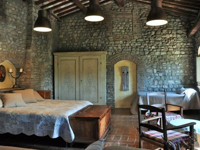 Photo for Apartment in farmhouse in the heart of Chianti (La Quercia)