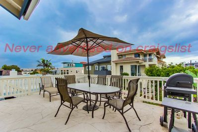 Front deck with Ocean View