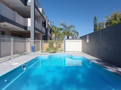 Photo for 9 'Shoal Bay Beach Apartments' 2 Shoal Bay Road -air conditioning and complex swimming pool