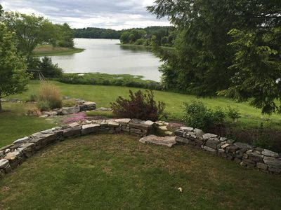 Photo for Waterfront home with beautiful sunsets overlooking the Damariscotta river
