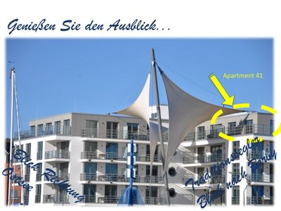 Photo for Apartment 41 with stunning harbor / sea view and large corner terrace