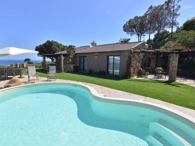 Photo for Villa with pool and stunning views, Chia Sardegna Italy