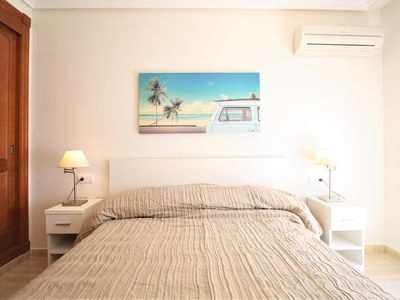 Photo for Modern one bedroom only 50m from the beach