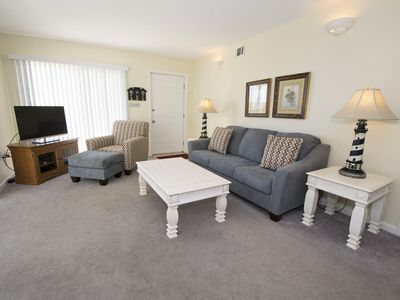 Photo for Ground Floor Beachfront Condo. Walk Straight Onto the Beach! Community Pool