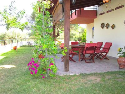 Photo for BILLIAS HOUSE VOURVOUROU 4-room house, 8 people with great views of the sea