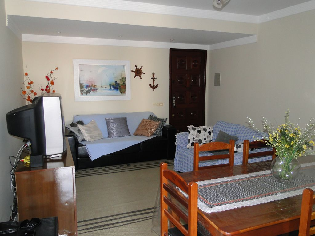 Furnished apartment on the beach of Itaúna Point International Surf