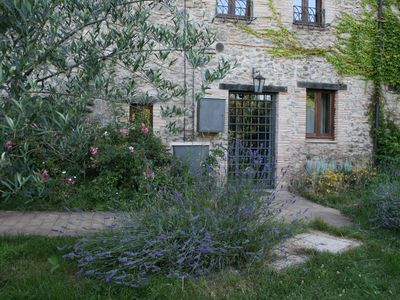 Photo for HOUSE VIGNOLO, LA TORRE (including flowers) - a small apartment with separate Entranc