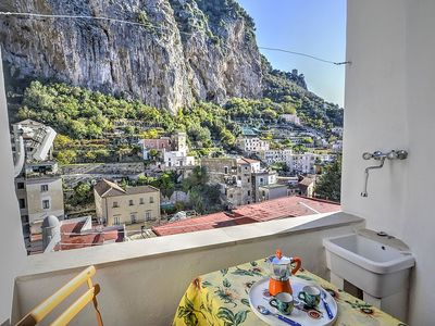 Photo for Casa Macrina D: A cheerful apartment in a quiet position, situated at a short distance from the Cathedral of Amalfi.