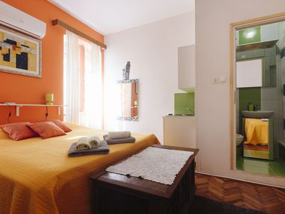 Photo for OLD TOWN  STUDIO 3 PEOPLE FREE WI FI FREE AIR CON PRIVATE BATHROOM&KITCHEN,TERAS