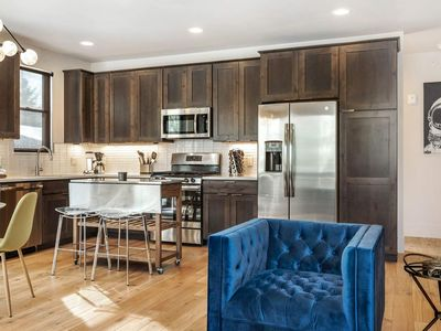 Photo for Sleek New Condo On Blue River! Central to Hiking/Biking, Dining, Shopping, All Ski Resorts, On Trail