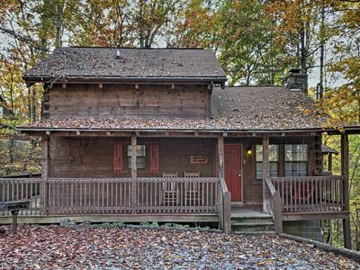 Photo for Cozy Sevierville Cabin w/Private Hot Tub & Deck!