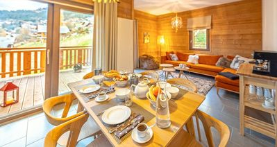 Photo for Modern and friendly apartment, close to the village ceneter and ski slopes.