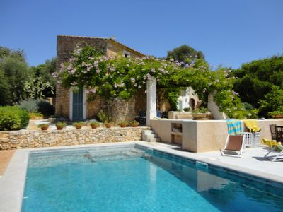 Photo for CA NA TONINA- Rustic Finca in Santany. 8 pax. BBQ Private pool.  - Free Wifi