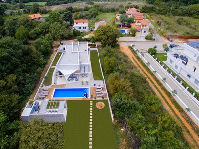 Photo for New luxurious modern villa with pool near Pula